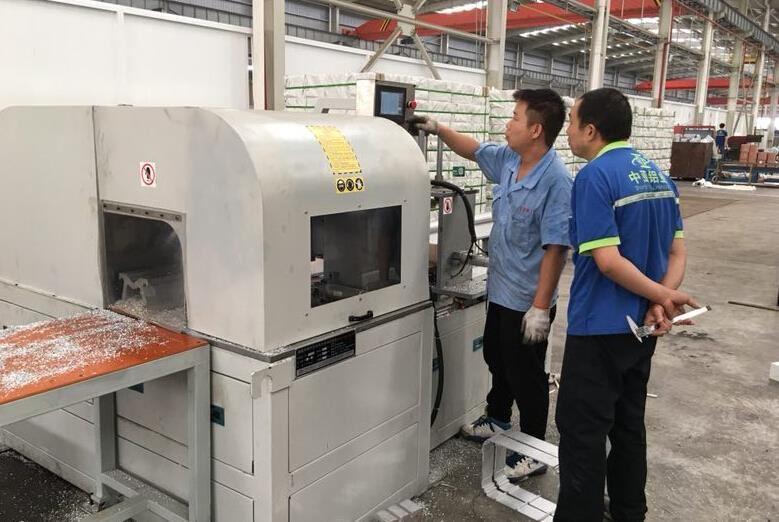 适用于电动机外壳切割的DS-A800铝合金切割机已服务于南平、中亚铝业
