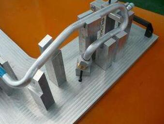 【山东】铝材切割机什么牌子好?切割汽车空调管路客户案例
