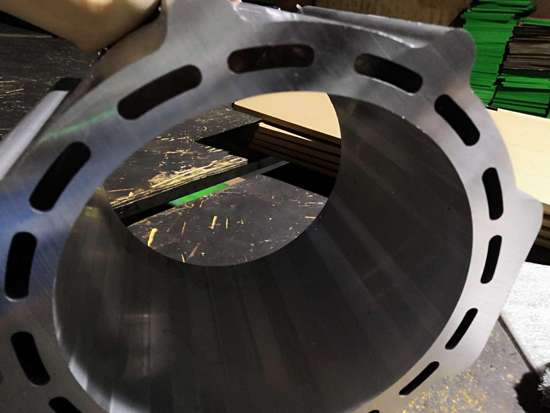 【天津】DS-A800全自动铝合金切割机锯切350mm直径圆形铝材