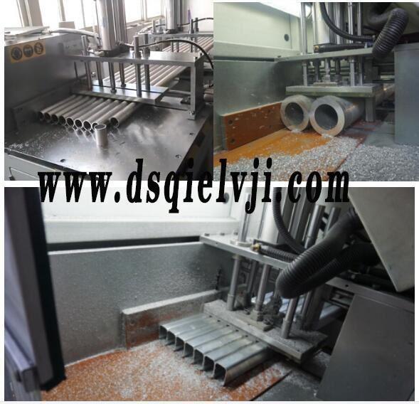 【昆山】铝方管切割机控制在32mm左右,公差在0.2mm以内