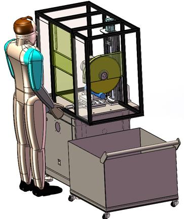 专业铸件浇冒口切割机DS-Z400及锯片可非标定制.