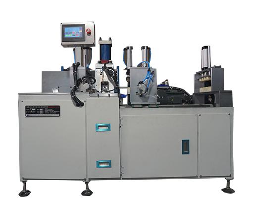 铝型材自动冲孔切割机