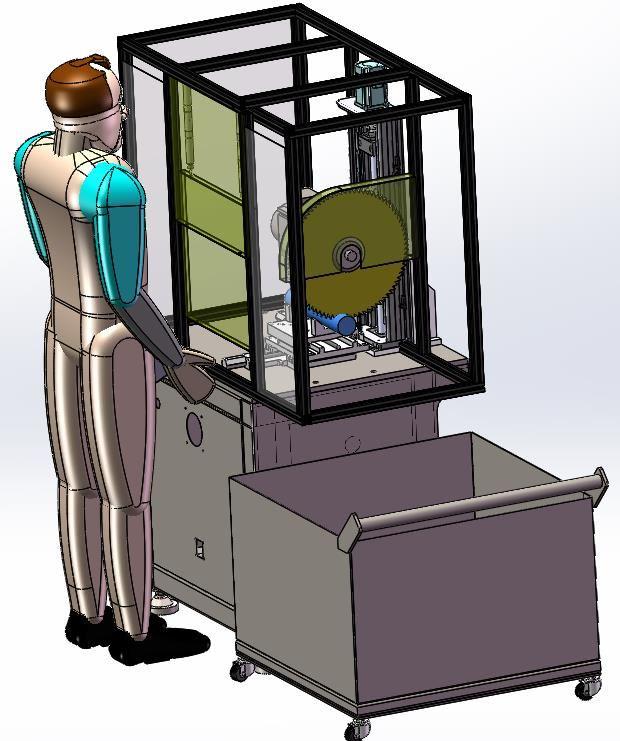 压铸铝切割机-非标定制