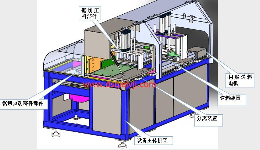 【苏州】上海工博会结识邓氏DS分离式切铝机,洽谈合作