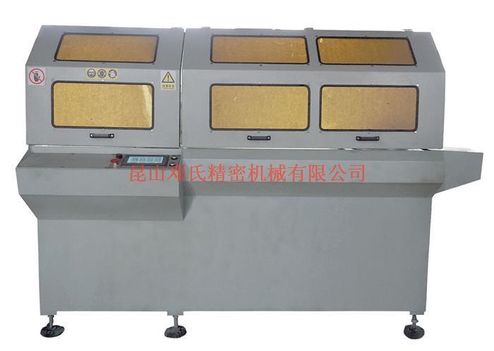 浙江客户对DS-A400散热器切割机评价颇高【邓氏机械】